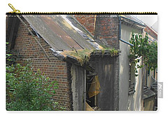 Carry-all Pouch featuring the photograph Seen Better Days by Therese Alcorn