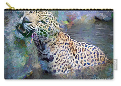 Carry-all Pouch featuring the painting Seven Year Itch by Judy Kay
