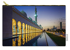 Sheikh Zayed Grand Mosque Carry-all Pouch by Ian Good