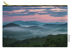 Shenandoah Sunrise Carry-all Pouch by Kevin Blackburn