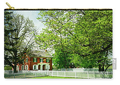 Sherfy House - Civil War Survivor Carry-all Pouch by Paul W Faust - Impressions of Light
