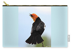 Carry-all Pouch featuring the photograph Showing Off by Shane Bechler