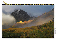 Carry-all Pouch featuring the photograph Siever's Mountain by Steve Stuller