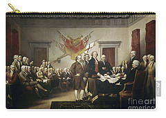 Signing The Declaration Of Independence Carry-all Pouch