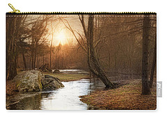 Carry-all Pouch featuring the photograph Silence Is Golden by Robin-Lee Vieira