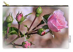 Single Rose22 Carry-all Pouch