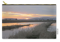 Skagit County Sunset Carry-all Pouch