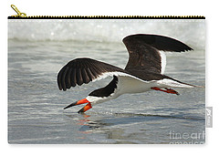 Skimming Carry-all Pouch by Myrna Bradshaw
