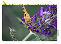Carry-all Pouch featuring the photograph Skipper by Douglas Stucky