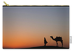 Skn 0866 Just Out Carry-all Pouch by Sunil Kapadia