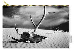 Skull And Antlers Carry-all Pouch