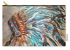 Sky Feather Carry-all Pouch