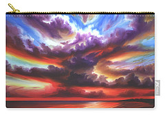 Skyburst Carry-all Pouch by James Christopher Hill