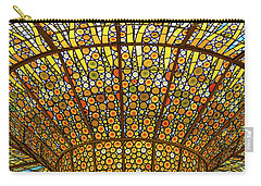 Skylight In Palace Of Catalan Music  Carry-all Pouch