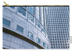 Skyscrapers In A City, Canary Wharf Carry-all Pouch by Panoramic Images