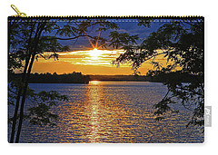 Smith Mountain Lake Summer Sunet Carry-all Pouch