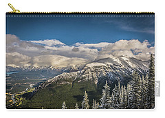Snow On The Mountain Carry-all Pouch by Bill Howard