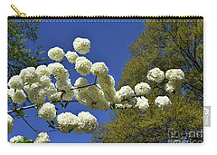 Carry-all Pouch featuring the photograph Snowballs by Skip Willits