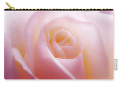 Soft Nostalgic Rose Carry-all Pouch