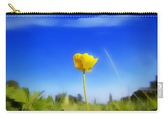 Solitary Flower Carry-all Pouch