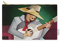 Solo Singer Carry-all Pouch by Lance Headlee