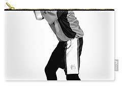 Carry-all Pouch featuring the digital art Southwest Aztecs Baseball Organization by Nicholas Grunas