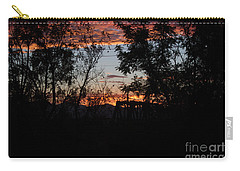 Carry-all Pouch featuring the photograph Spectacular Sky by Anne Rodkin