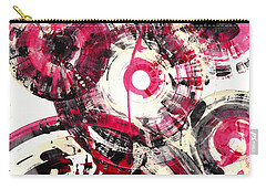 Carry-all Pouch featuring the painting Sphere Series 1025.050412 by Kris Haas
