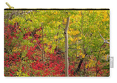 Splash Of Autumn Carry-all Pouch