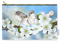 Carry-all Pouch featuring the painting Spring Fever by Veronica Minozzi