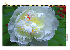 Carry-all Pouch featuring the photograph Spring Peony by Roger Bester