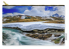 Carry-all Pouch featuring the photograph Spring Waters by Dmytro Korol