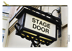 Stage Door Sign Carry-all Pouch
