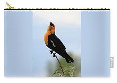 Carry-all Pouch featuring the photograph Standing Tall by Shane Bechler