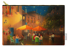 Starry Night Cafe Society Carry-all Pouch by Joe Gilronan
