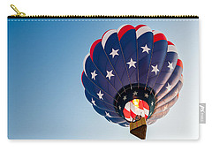 Stars And Stripes Above Carry-all Pouch