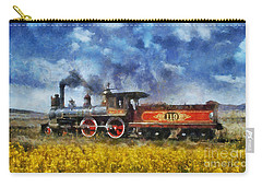 Carry-all Pouch featuring the photograph Steam Locomotive by Ian Mitchell
