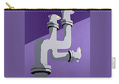 Steam Pipes Carry-all Pouch
