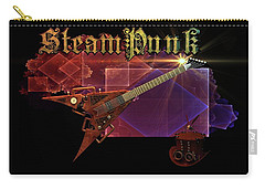Steampunk Guitar Carry-all Pouch by Louis Ferreira