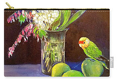 Still Life Carry-all Pouch by Rose Wang