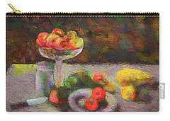 Carry-all Pouch featuring the photograph Still Life by Vladimir Kholostykh
