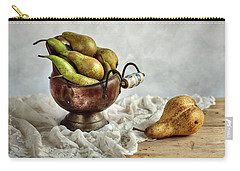 Still-life With Pears Carry-all Pouch by Nailia Schwarz