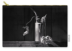 Still Life With Tulip Carry-all Pouch by Nailia Schwarz