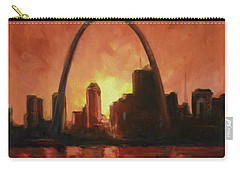 St.louis Downtown - Sunset Carry-all Pouch