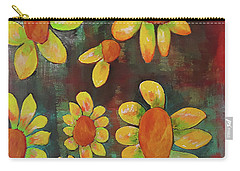 Stoned Flowers Carry-all Pouch