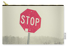 Carry-all Pouch featuring the photograph Stop by Edward Fielding