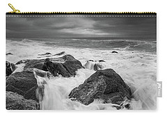 Carry-all Pouch featuring the photograph Stormy Morning by Will Gudgeon