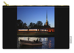 St.petersburg At Night Carry-all Pouch