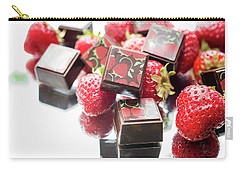 Strawberry Delight Carry-all Pouch by Sabine Edrissi