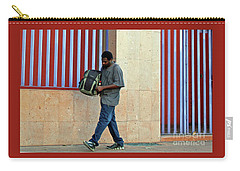 Carry-all Pouch featuring the photograph Stripes by Joe Jake Pratt